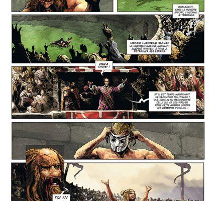 Excalibur - Chroniques - Bande dessinée