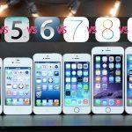 Comparaison de la famille des iPhone